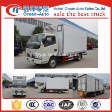 Nuevo DONGFENG Diesel pequeño camión refrigerado para las ventas
