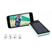 Cargador de banco de energía solar con función de soporte de teléfono móvil