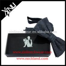 Papel Feito Por Atacado Presente Bow Tie Boxes