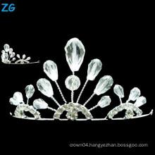 Yiwu Zhanggong crystal wholesale beauty pageant wedding using small wedding tiara