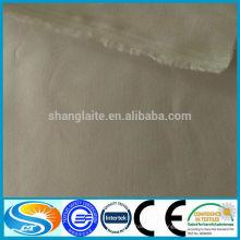 Tissu à rayures en coton poli en polyester