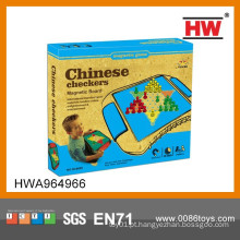 Interessante Magnetic Chinese Checkers Brinquedo Kids Indoor Games