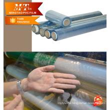 Blue PVC Plastic film mattress packaging soft sheet for package