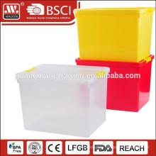 Cheap large plastic compartment storage box