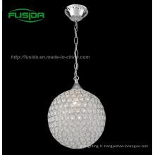 Luminaire pendentif en cristal moderne de nouvelle conception