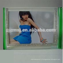 Высокое качество подгонянные рамки фото,красочный четкий блок фоторамка