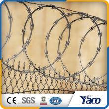 razor barbed wire prison price security fence for gate making machine