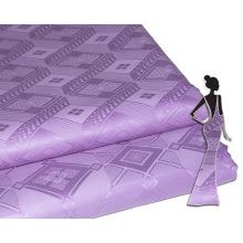 Feitex Royal diamant brut coton tissu tissu doux mode brocade de Guinée pour broderie femmes robe