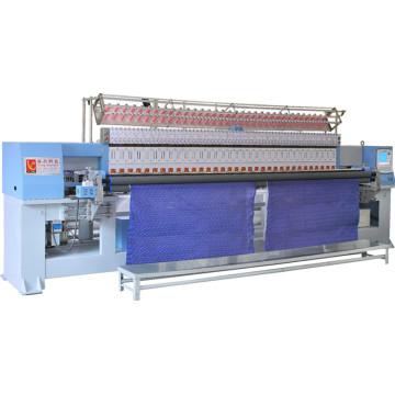 Quilten-Stickerei-Textilmaschinerie Yuxing, computergesteuerte Quilter 33 Stickereikopf, Steppdeckenstickerei-Fertigungsstraße Yxh-1-1-50.8