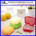 6units de haute qualité Logo personnalisé Pillbox (EP-041)
