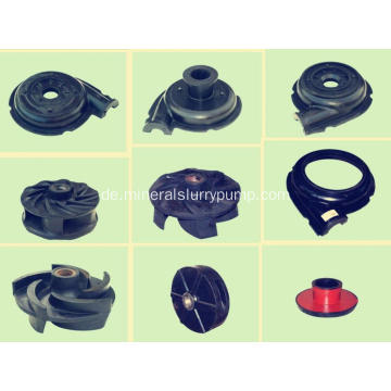 High Effiency Anti-Abbrasive Slurry Pump Ersatzteile