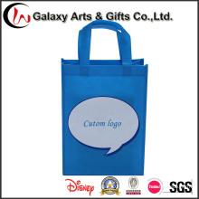 Publicidade a campanha personalizada logotipo impresso sacos de compras no Non-Woven