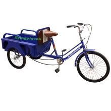 Mala de caixa de aço favorável três rodas trike (pf-trcy024)