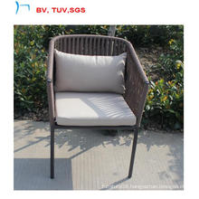 New Style Garden Chair with 5cm Water-Resistance Fabric Cushion