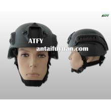 Casco kevlar antibalas militar y policial de seguridad.