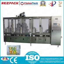 Automatische lineare Kunststoff-Becher-Füll- und Siegelmaschine (RZ-D)