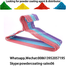 Thermoplastic Dipping LDPE Powder Coating untuk gantungan / pagar