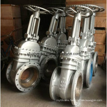 API600 Cast Carbon Steel Wcb Flange End RF Gate Valve