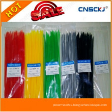 Colorful Nylon 66 Plastic Cable Tie, Nylon Cable Tie Made in China Width RoHS, Ce