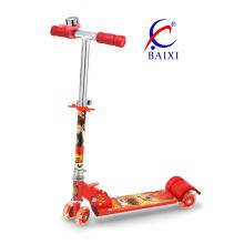 Crianças Scooter com 4 rodas de PVC 70mm (BX-4M001)