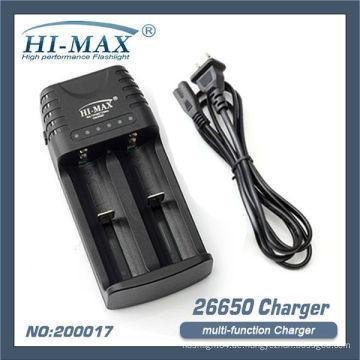 Hallo-max 5v 18650/26650 Multifunktions-Ladegerät tragbares Ladegerät 18650 Ladegerät