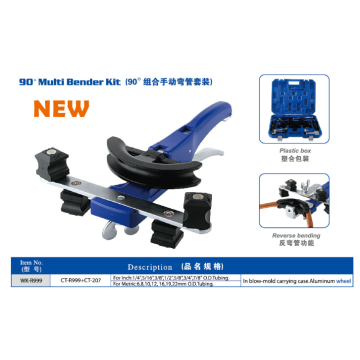 Kit multi bender per tubi