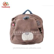 Mochila de felpa estándar del oso de peluche del bebé CE / EN71