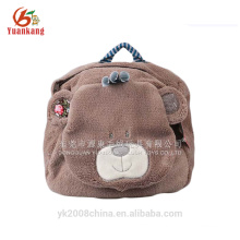 CE/EN71 standard plush baby teddy bear backpack