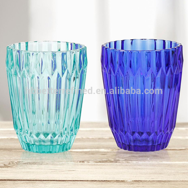Solid Green Glass Tumbler Wholesale1