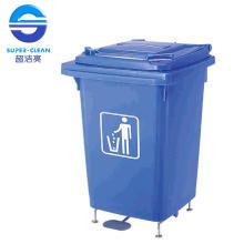 60L Fußpedal Kunststoff Mülleimer