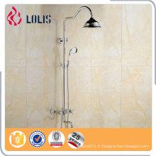 Robinets de douche de pluie à l'apparence fine, mélangeur de robinet de bain, douche de salle de bain