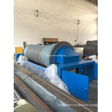 High speed sectional warping machine for water jet loom and air jet loom