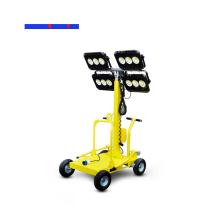 Tour d'éclairage portative de tour d'éclairage de générateur mobile de 5,5 m