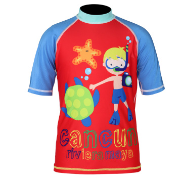 Seaskin manches courtes Todder Boys Rash Guards