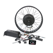 48V 500w 1000w fat tire ebike conversion kit electric motor bike for foldable ebike with 26A smart controller 20inch rim