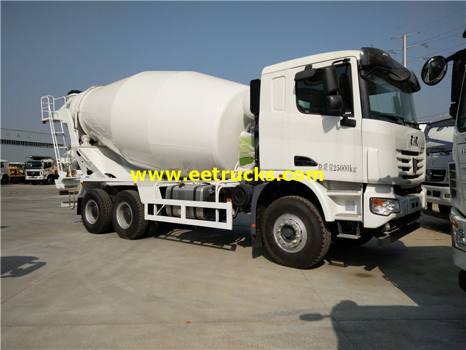 10 Wheel Cement Delivery Trucks
