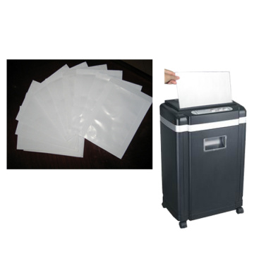 lubricant sheet for paper shredder