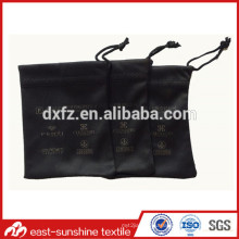 Best Price Black Microfiber Glasses Pouch,Black Microfiber Bag