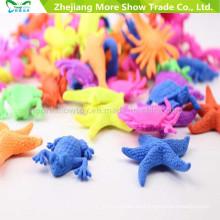 Hot Fashion Marine Animals Growing Toys Estrella de mar Tortuga de pescado Ocean Animals Growing Toys