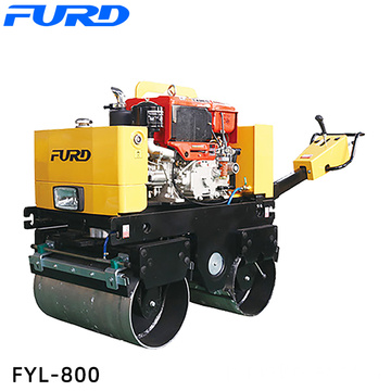 New Double Drum Small Weight Hydraulic Road Roller