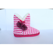 Women′s High Boots with Kint