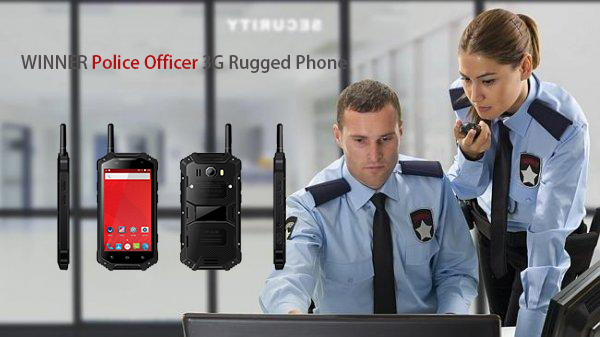 WINNER Police Officer 3G Rugged Phone