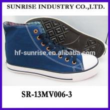Nuevo modelo zapatos de lona nuevo modelo zapatos hombres zapatos de lona