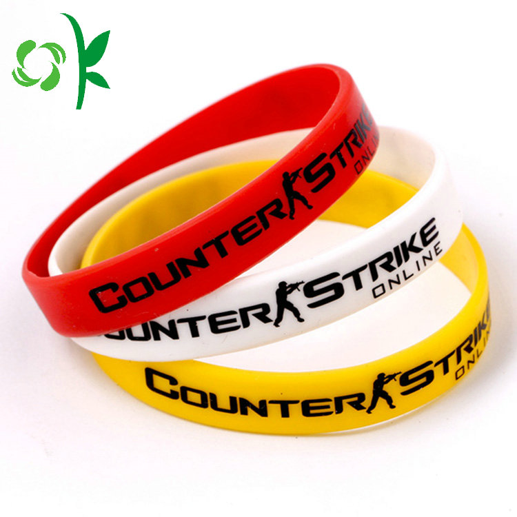 Silicone Wristband For Souvenir Gifts