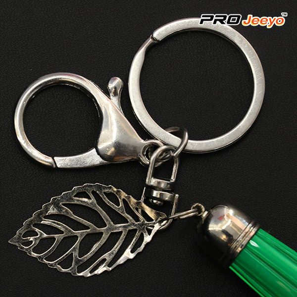 Green Tassle Lightning Usb Cable For Iphone Keychain Rk Usb001g