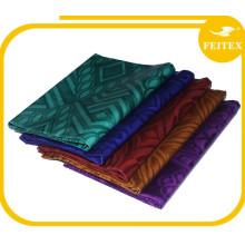 Shaoxing Handmade Ghalila Textiles Fabric 100% Cotton Bazin Riche Southeast Asia Design Wedding Dress Shadda
