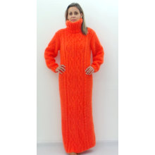 Hand Knitted Winter Dress Made to Order