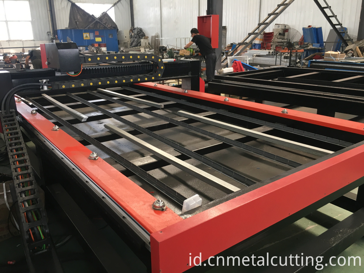 waterbed plasma cutter