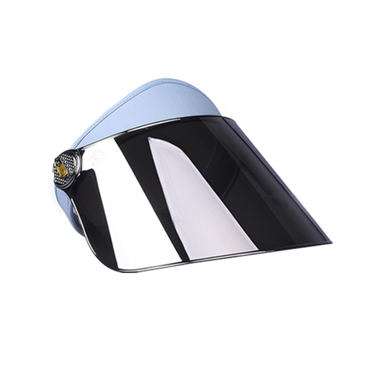 Silver Sun Visor Cap Uv Protection Hat 3486330317