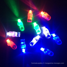 lumières menées de doigt pour des enfants